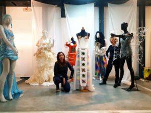 Η συμμετοχή του τμήματος BESPOKE & HAUTE COUTURE στο έργο CreativeWear!!!